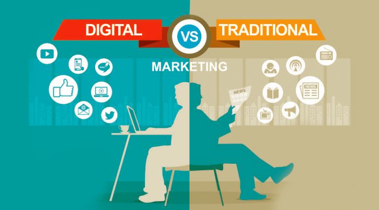 Advantages of digital marketing over traditional marketing